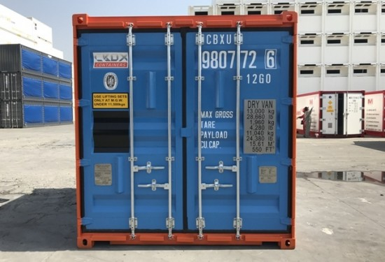 10ft Offshore DNV container