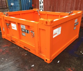10ft Basket Offshore DNV container0