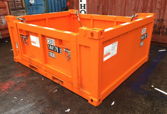 10ft Basket Offshore DNV container