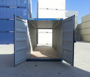 20ft HC Double Door container1