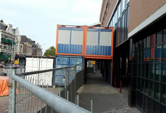 20ft Walkway container