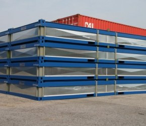 20ft Flat Packs container0