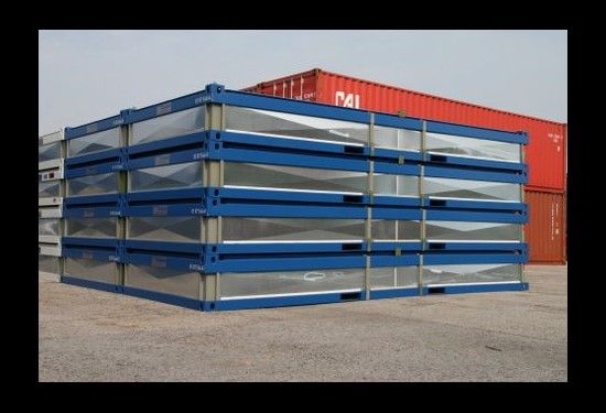 20ft Flat Packs container