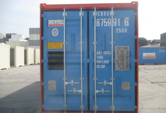 20ft HC Offshore DNV container