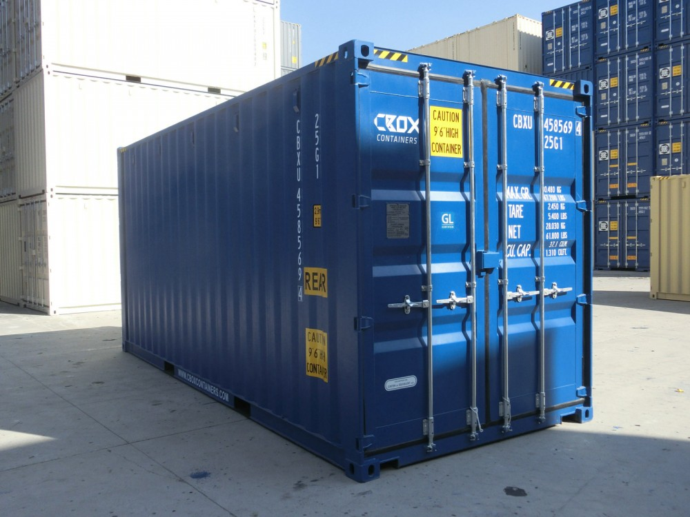 20ft Hc Double Door Container Cbox Containers Your