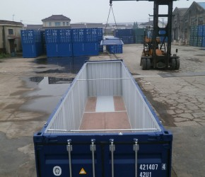 40ft Hard Open Top container4