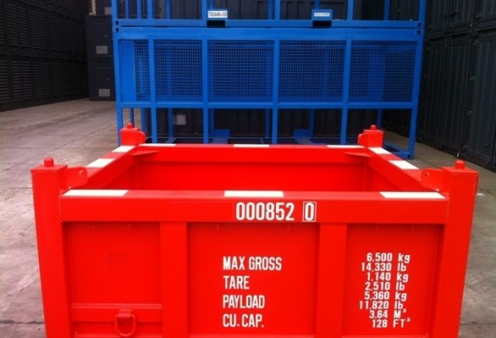 8ft Basket Offshore DNV container