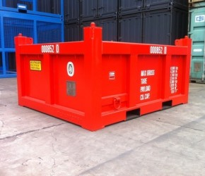 8ft Basket Offshore DNV container0