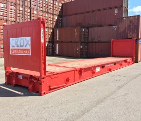 40ft Collapsible Flat container0
