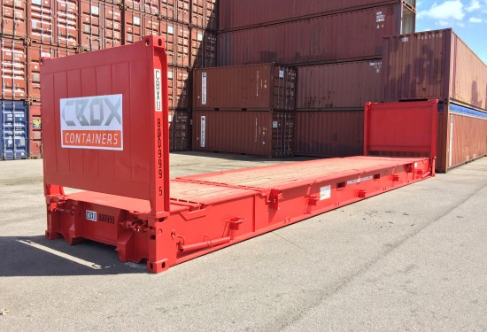 40ft Collapsible Flat container