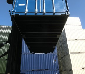 20ft HC Double Door container4