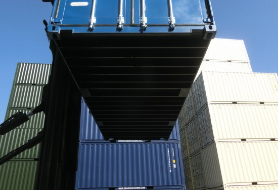 20ft HC Double Door container