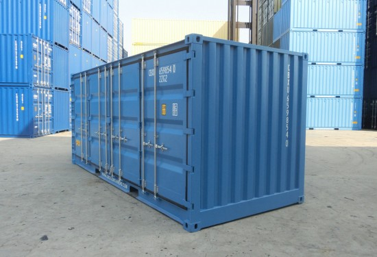 20ft Full Side Access containers