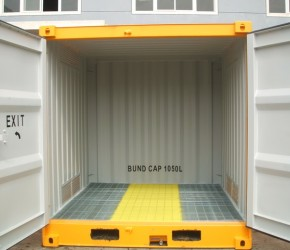8ft HC DG container1
