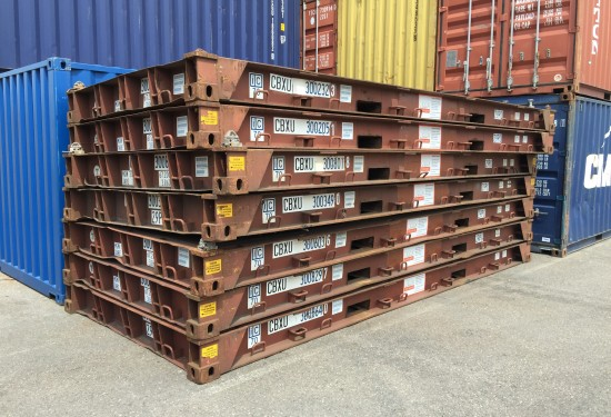 20ft Platform container