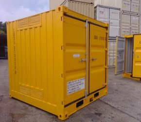 8ft HC DG container0