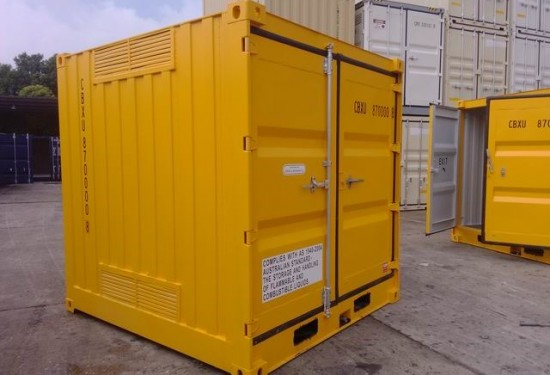 8ft HC DG container
