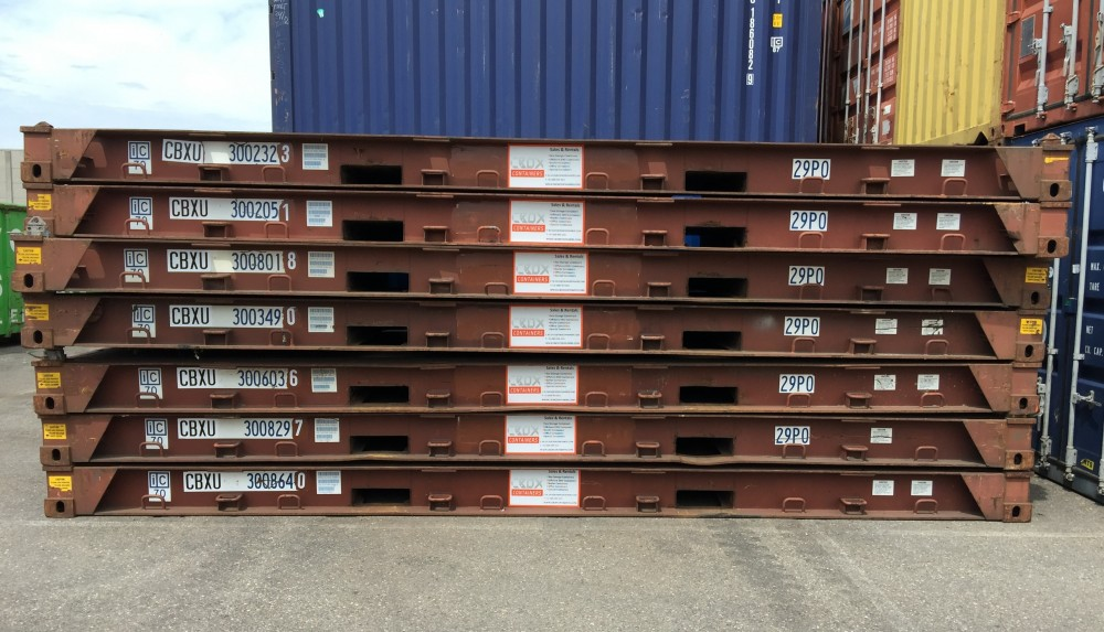 20ft Shipping Container >> 20ft Platform container | CBOX Containers - Your global ...