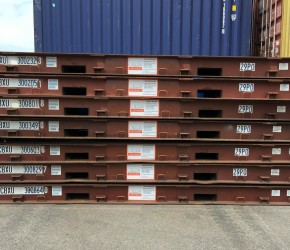 20ft Platform container2