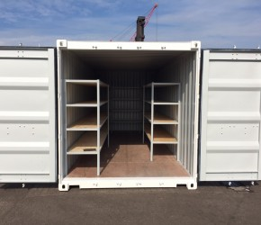 20ft Shelving container0