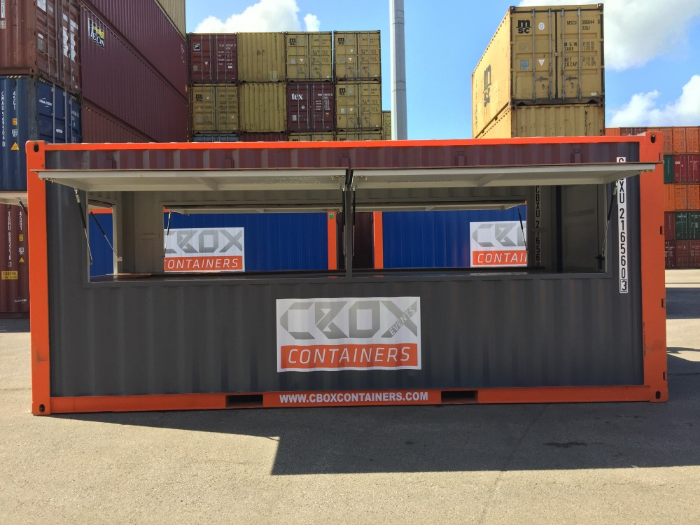 20ft Bar Container Cbox Containers Your Global