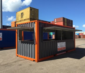 20ft Bar Container1