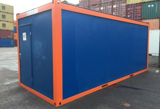 20ft Sanitairy cabin container
