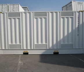 20ft HC DG Double Door container4