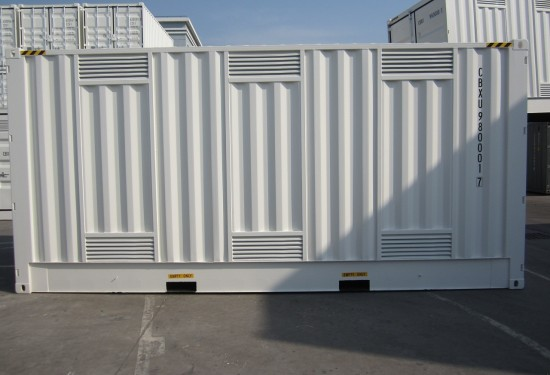 20ft HC DG Double Door container