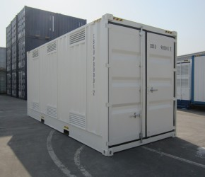 20ft HC DG Double Door container2