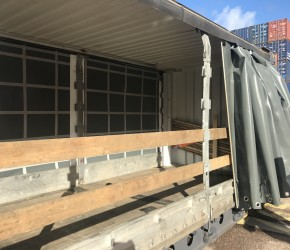 45ft HC Pallet Wide Curtain Side container3