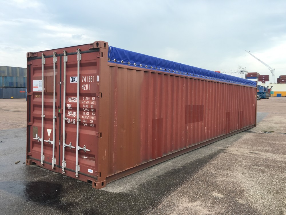 40ft Open Top container | CBOX Containers - Your global ...