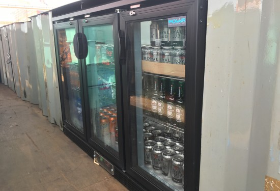 20ft Retro Bar container
