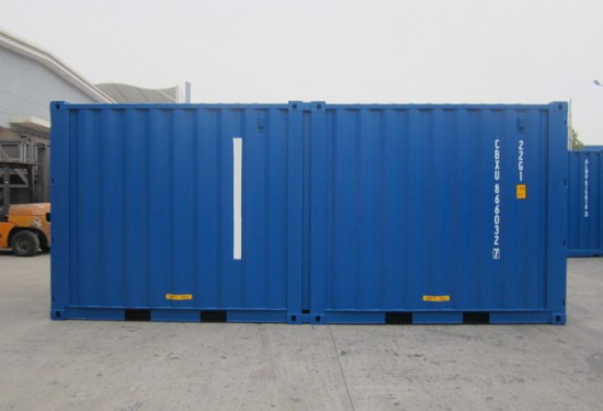 20ft Duocon container (10ft+10ft containers)