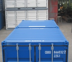 20ft Duocon container (10ft+10ft containers)4