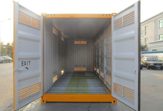 20ft HC Full Side Acces DG container