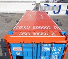 20ft Open Top Offshore DNV container3