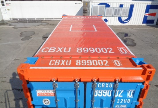20ft Open Top Offshore DNV container