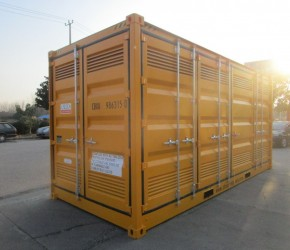 20ft HC Full Side Acces DG container0