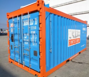 20ft Open Top Offshore DNV container0