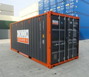 20ft Shelving container1