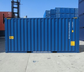 20ft HC Double Door container3