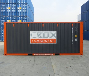 20ft Shelving container2