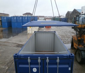 20ft Hard Open Top container1